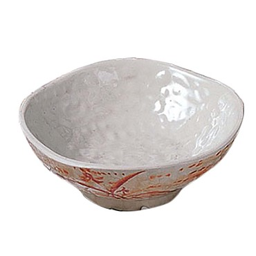 "Thunder Group 3705 - Rice Bowl, 7 oz., 4-3/4"" dia., round, wave, melamine, Gold Orchid"