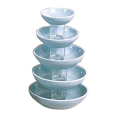 "Thunder 3965 - Bowl, 15 oz., 6-1/2"" dia., melamine, Blue Jade, (Case of 12)"