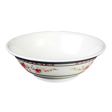 "Thunder 5070AR - Bowl, 36 oz., 8"" dia., rimless, melamine, Rose, (Case of 12)"