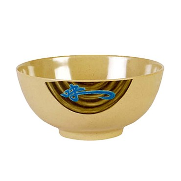 "Thunder Group 5206J - Rice Bowl, 25 oz., 5-7/8"" dia., round, melamine, Wei"
