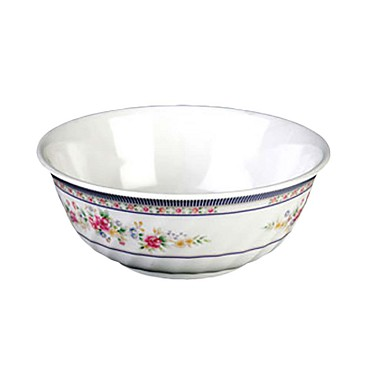 "Thunder 5307AR - Swirl Bowl, 32 oz., 6-7/8"" dia., melamine, Rose, (Case of 12)"