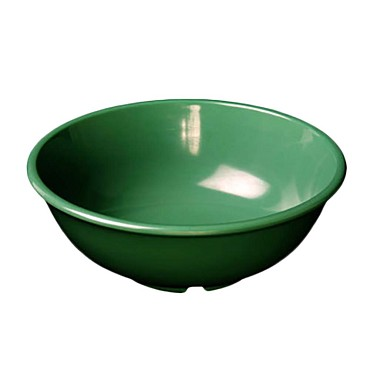 "Thunder CR5807GR - Salad Bowl, 32 oz., 7-1/2"" dia., melamine, green, (Case of 12)"