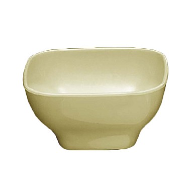 Thunder PS3106V - Square Bowl, 20 oz., 5.5 inch, rounded corners, Pearl, (Case of 12)
