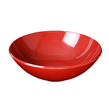 "Thunder PS3110RD - Bowl, 96 oz., 11"" dia., melamine, Passion Red, (Case of 4)"