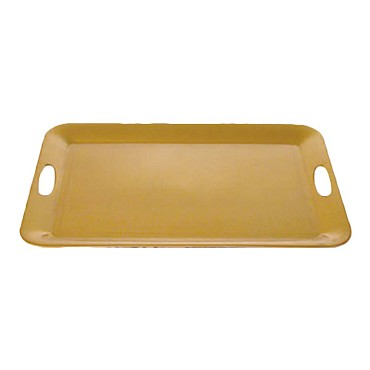 "Thunder RF2920G - Tray, 19.5"" L x 14.5""W, with built-in handles, Gold, (Case of 3)"