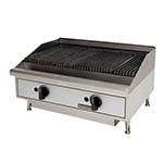 Toastmaster TMLC24 - Lava Rock Charbroiler, counter top, gas, 24