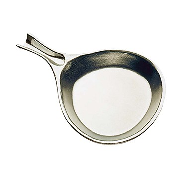 Tomlinson 1006412 - Skillet, 8 oz., solid cast aluminum, burnished finish (Case of 12)