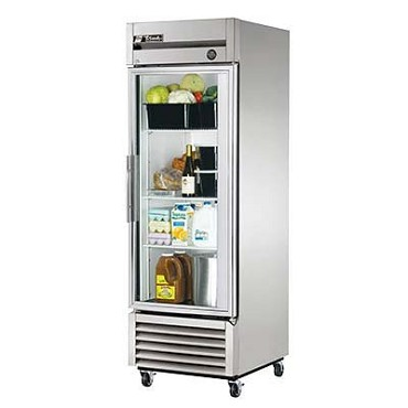 True T-23G-HC~FGD01 - Reach-In Refrigerator, one-section, (1) glass door, LED lighting