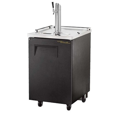 True TDD-1-HC - Draft Beer Cooler, (1) keg, (1) door with lock, (1) column beer faucet