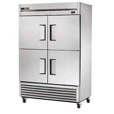 True TS-49F-4-HC - Reach-In Freezer, two-section, -10°F, (4) stainless steel half doors