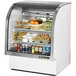 True TCGG-36-LD - Curved Glass Deli Case, 36-1/4