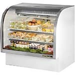 True TCGG-48-LD - Curved Glass Deli Case, 48-1/4
