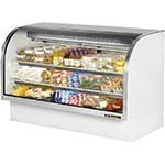 True TCGG-72-LD - Curved Glass Deli Case, 72-1/4