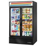 True GDM-43-HC~TSL01 - Refrigerated Merchandiser, two-section, (2) glass hinged doors