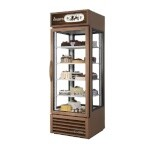 True G4SM-23-HC~TSL01 - Merchandiser, one-section, 23 cu. ft., (1) hinged glass door, copper finish exterior
