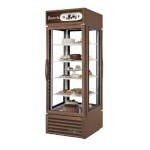True G4SM-23PT-HC~TSL01 - Pass-Thru Merchandiser, one-section, (2) hinged glass doors