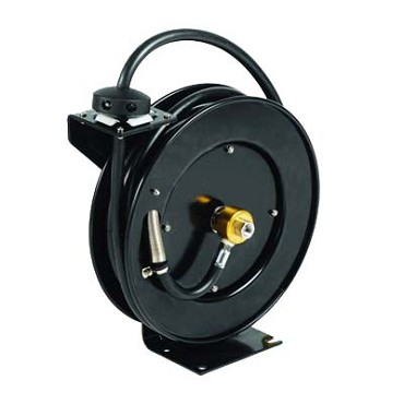 "T&S Brass 5HR-232 - Equip Open Hose Reel, powder coated steel, 3/8"" x 35 ft. hos"