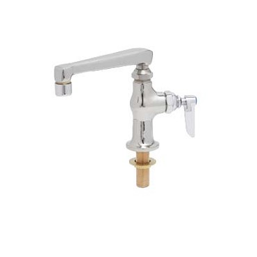 "T&S Brass B-0208 - Single Pantry Faucet, with 6"" cast nozzle, deck mounted, single"