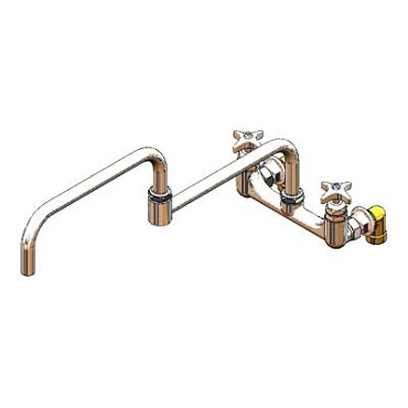 "T&S Brass B-0295 - Kettle & Pot Sink Faucet, Big-Flo, deck mounted, 3/4"" IPS female"