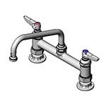 T&S Brass B-0220-060X - Pantry Mixing Faucet, double, deck mount, 8