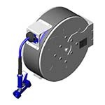 T&S Brass B-7142-C02 - Hose Reel System, enclosed, stainless steel, 3/8