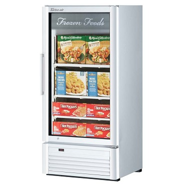 Turbo Air TGF-10SD-N - Glass Merchandiser Freezer, one section, 9.3 cu. ft.