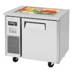 Turbo Air JBT-36-N - Refrigerated Buffet Table, 1 Section 7.5 Cu. Ft.