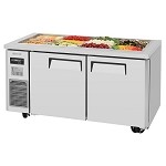 Turbo Air JBT-60-N - Refrigerated Buffet Table, 2 Section 14.8 Cu. Ft.