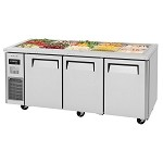 Turbo Air JBT-72-N - Refrigerated Buffet Table, 3 Section 18.2 Cu. Ft.