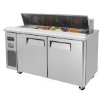 Turbo Air JST-60 - Sandwich/Salad Unit, 2 Section 15 Cu. Ft.