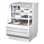 Turbo Air TCGB-36-W(B)-N - Bakery Case, refrigerated, 36-1/2