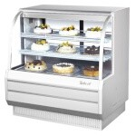 Turbo Air TCGB-48-W(B)-N - Bakery Case, refrigerated, 48-1/2