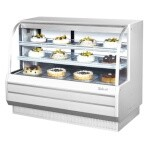 Turbo Air TCGB-60-W-N - Bakery Case, refrigerated, 60-1/2