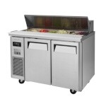 Turbo Air JST-48-N - Sandwich/Salad Unit, 2 Section 11 Cu. Ft.