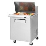 Turbo Air MST-28-12 - M3 Sandwich/Salad Mega Top Unit, 8 Cu. Ft.