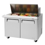 Turbo Air MST-48-18 - Sandwich/Salad-Mega Top Unit, 15 cu. ft.