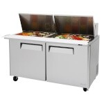 Turbo Air MST-60-24 - Sandwich/Salad-Mega Top Unit, 19 cu. ft.