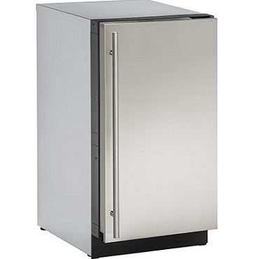 Uline U-3018CLRS-00A - Clear Ice Machine, 18 inch, with Right Hinged Door
