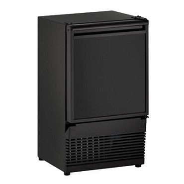 "U-Line U-BI95B-00A - ADA Crescent Ice Maker With Bin, 14""W, black exterior"