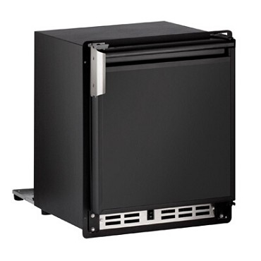 "U-Line ULN-SP18FCB-20A - Marine Ice Maker With Bin, crescent-style, 15""W, stainless steel"