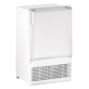 "U-Line ULN-WH95FC-20A - Marine Ice Maker With Bin, crescent-style, 14""W, white exterior"