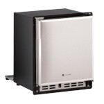 U-Line ULN-SP18FCS-20A - Marine Ice Maker With Bin, crescent-style, 15