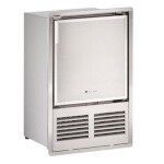 U-Line ULN-SS1095FD-03A - Marine Ice Maker With Bin, crescent-style, 16