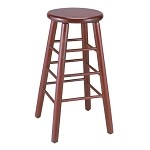 Vitro WLS-1310 BS - Woodland Backless Wood Stool, 30