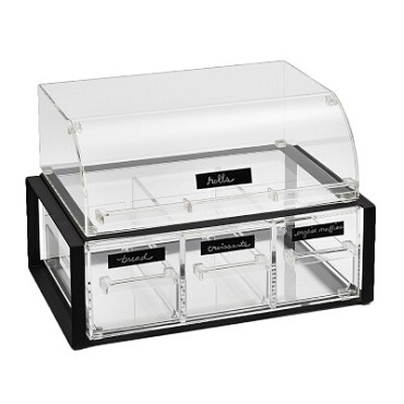 "Vollrath NBCBB33F-06 - Heated Display Case, countertop, full service, 47-1/4""W"