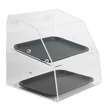 "Vollrath SBC1014-2R-06 - Countertop Display Case, curved front, 14.5""W x 14.25""D x 15.25""H"
