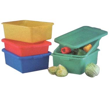 "Vollrath 1505-C19 - Traex Color Mate Food Storage Box Combo Set, includes: 7"" st"