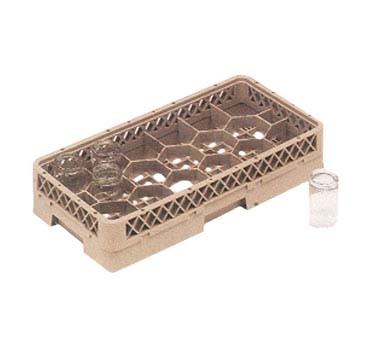 Vollrath HR1FA - Dishwasher Rack, half size, (17) compartment, (2) extenders, (Case of 4)