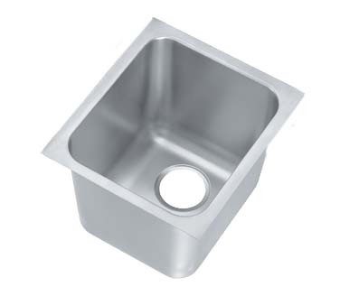 "Vollrath 12121-1 - Weld-In Sink, one compartment, 14""W x 12""D x 12"" deep, (Case of 2)"
