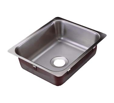 Vollrath 131-8 - Drop-In Sink w/Single Bowl, 11-3/4 x 9-3/8 x 4 in.